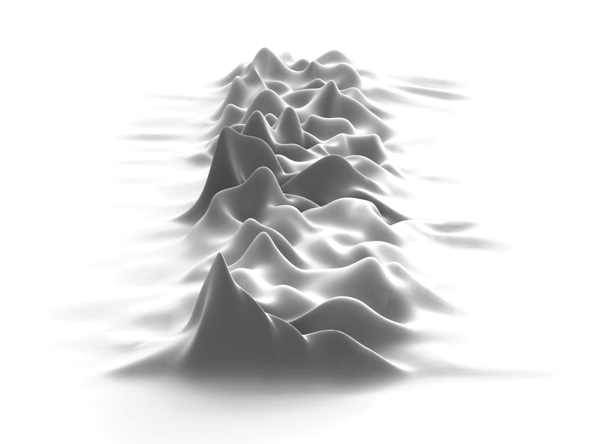 Unknown Pleasures 2003 by Morph + Peter Saville