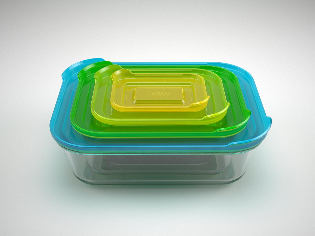 Nest™ Glass Storage by Morph for Joseph Joseph