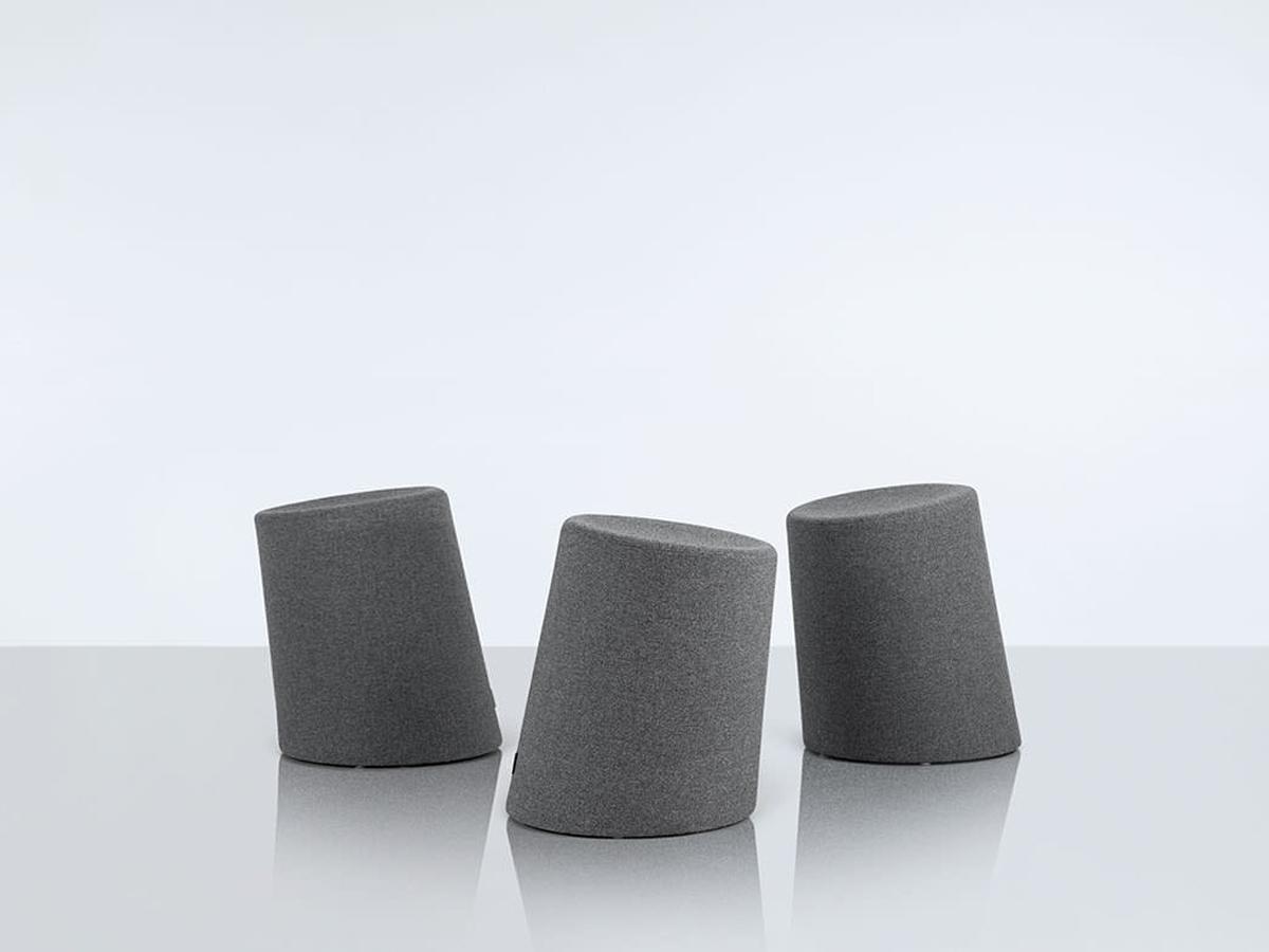 10 Degree Stool Grey