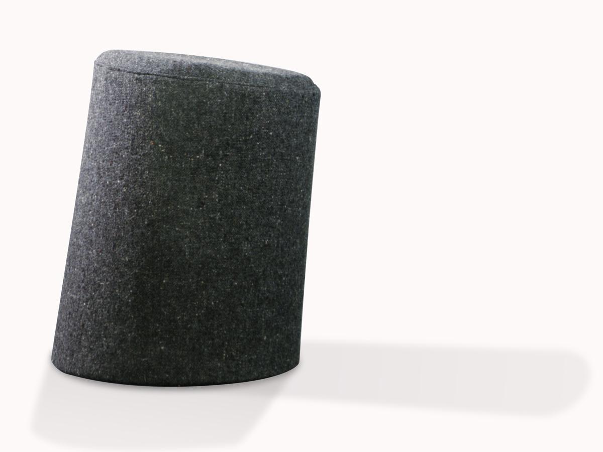 10 Degree Stool Grey Single