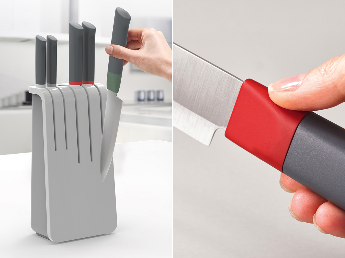 Duo 5-Piece Knife Block Set Details