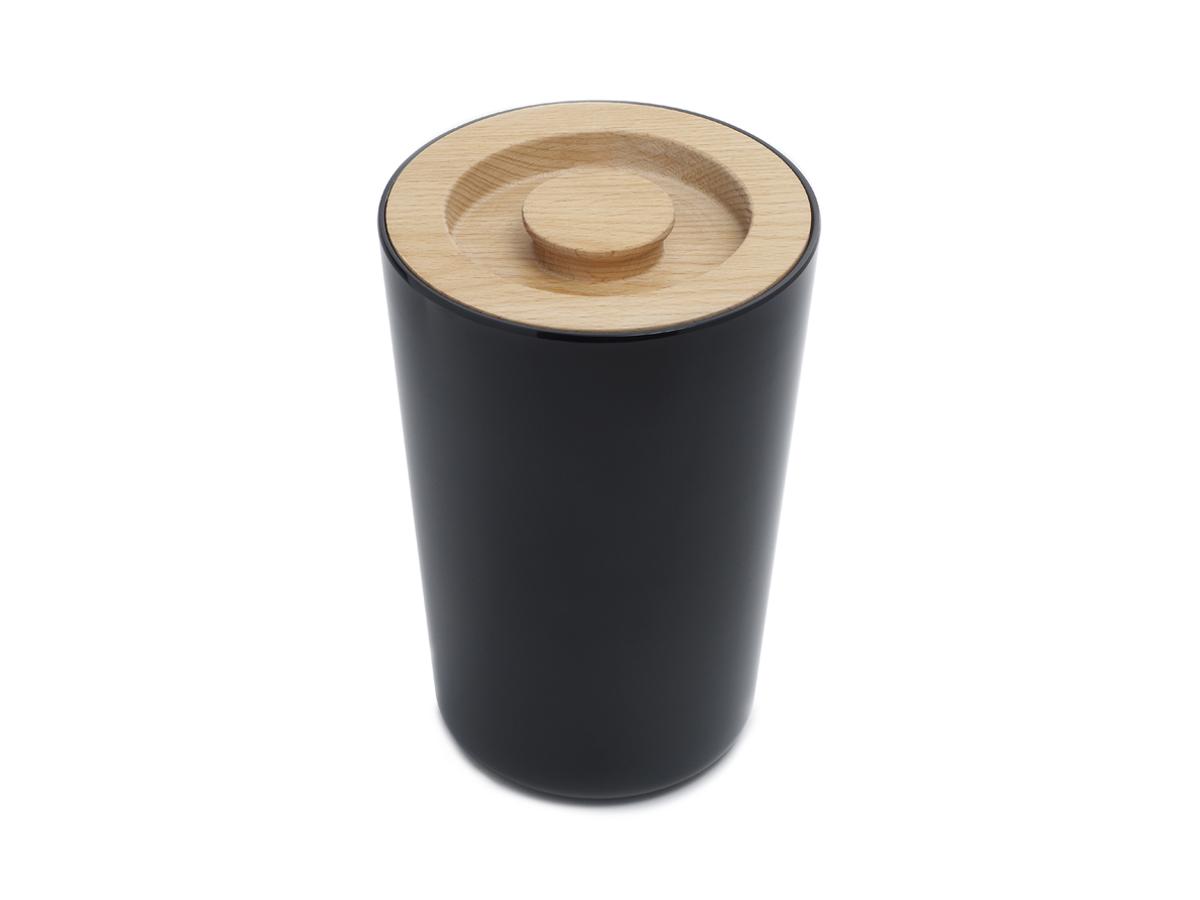 Melamine Storage Black