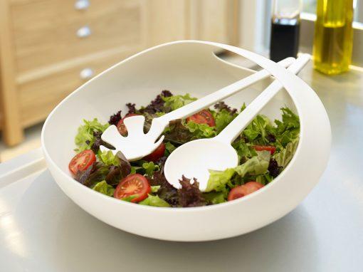Salad Bowl & Servers