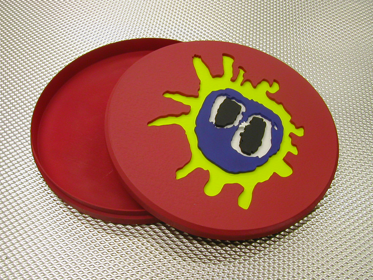 "Primal Scream Screamadelica Ltd Edition 20th Anniversary ""Pill"" Alt Test Open"