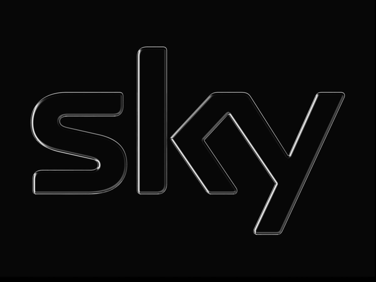 Sky Logo On Black