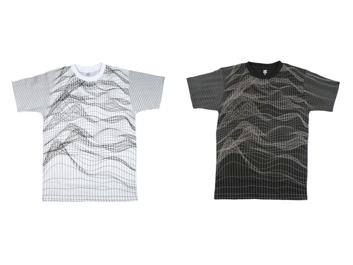 Unknown Pleasures DC Mesh T-Shirts