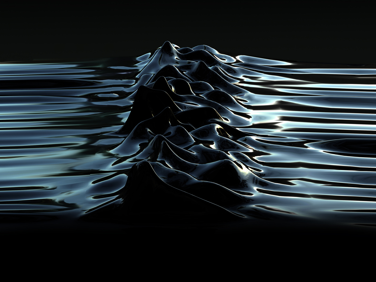 Unknown Pleasures (Latex) by Morph + Peter Saville