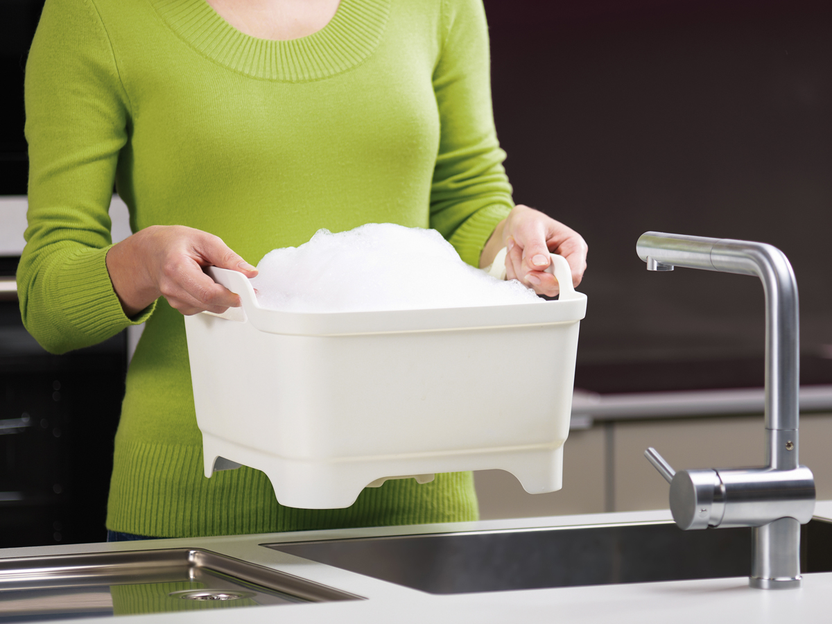 Wash&Drain In Use