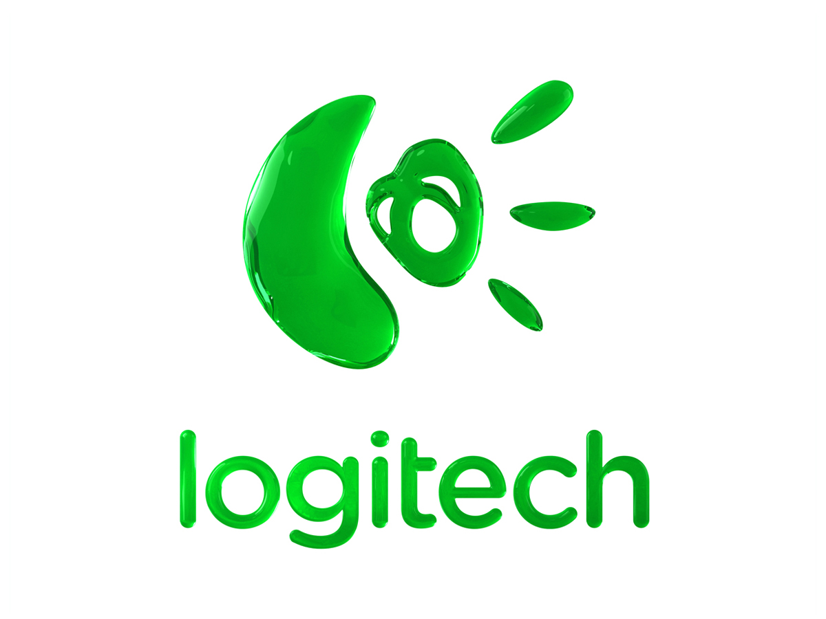 Logitech 3D Logo Green