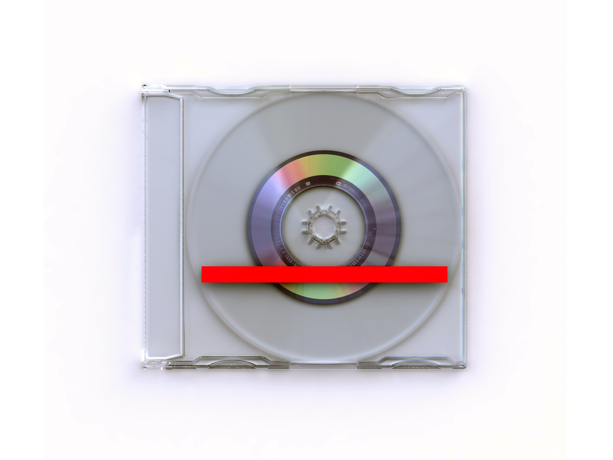 "New Order ""Crystal"" CD Single Concept Artwork by Morph + Peter Saville"