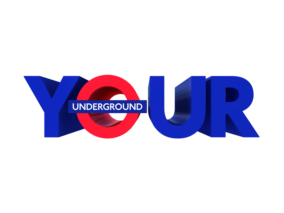 """""""YOUR"""" TFL Campaign Artwork by Morph for M&C Saatchi & TFL"""