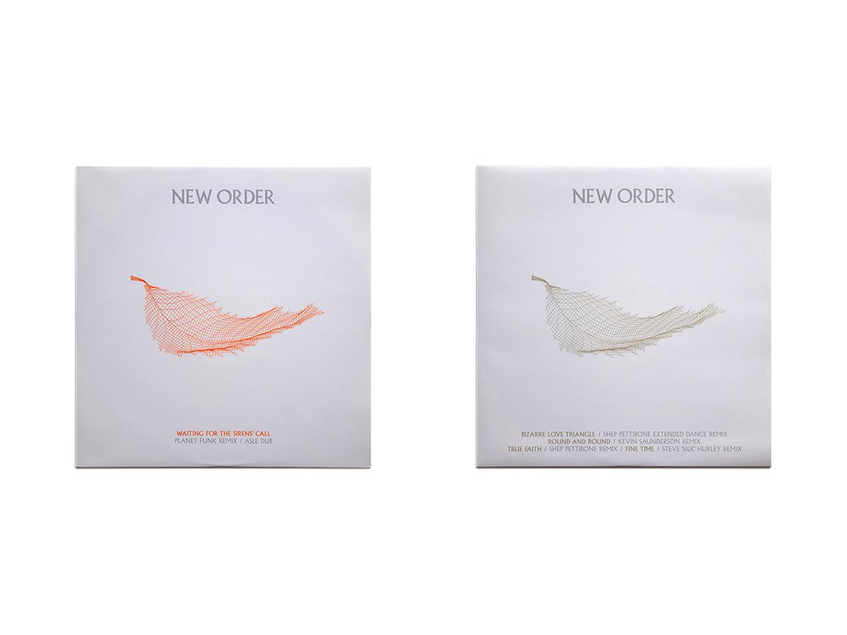 New Order Singles 12 x 12 Inch 1 & 2