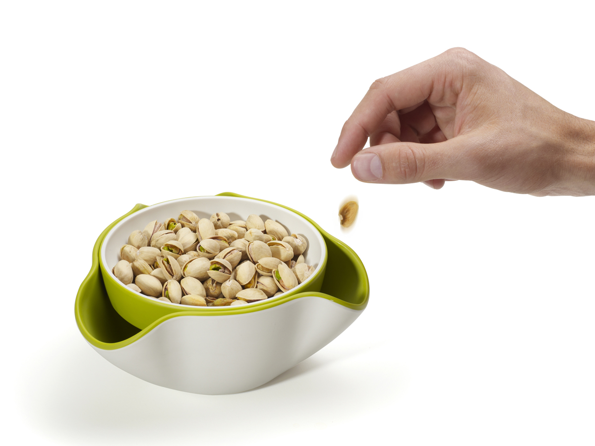 Double Dish In Use Nuts