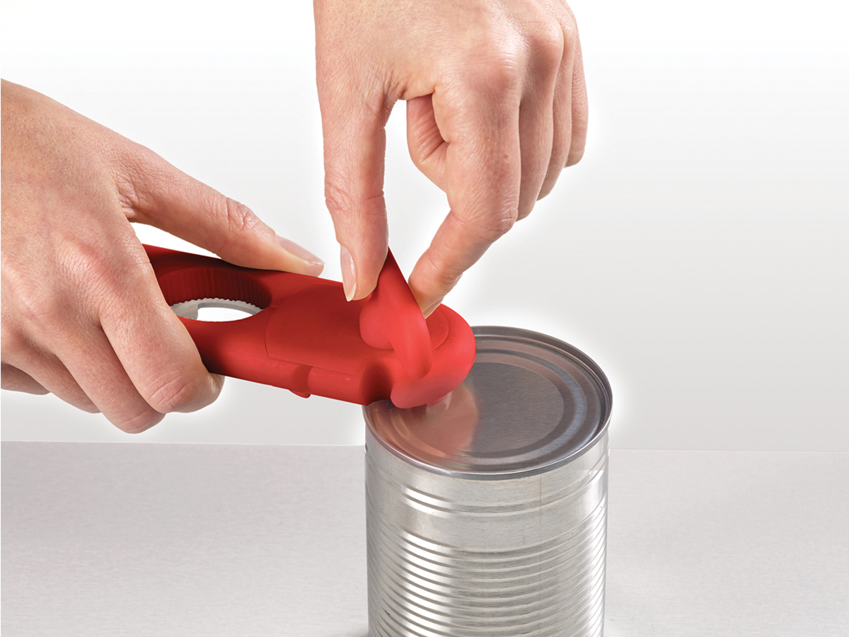 Duo Can Opener In Use Can