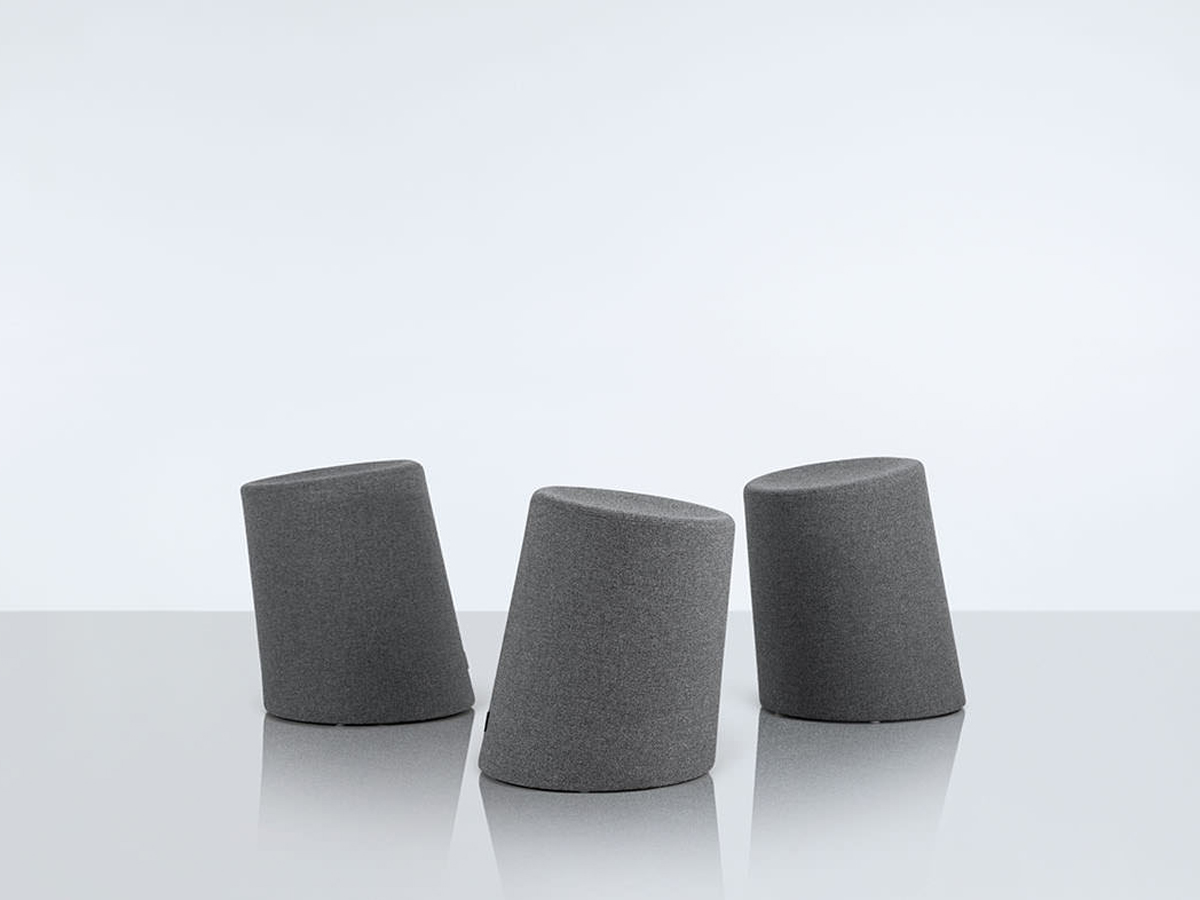 10 Degree Stool Grey