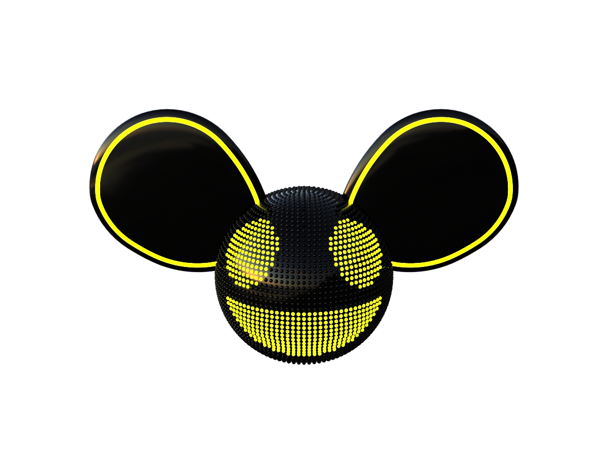 Deadmau5 4x4=12 Concept Development Yellow on White