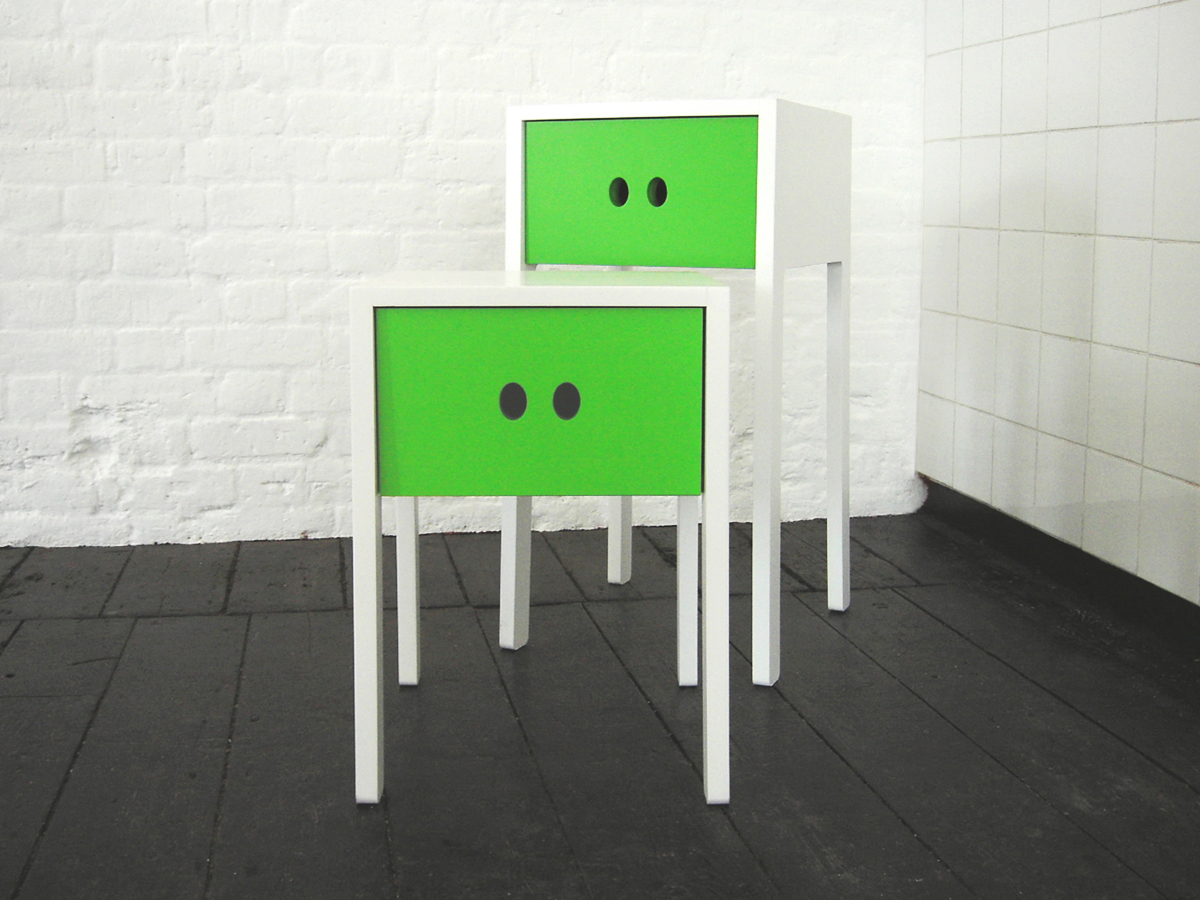 """Eyes"" Children's Drawer Units by Morph + Sam Johnson"