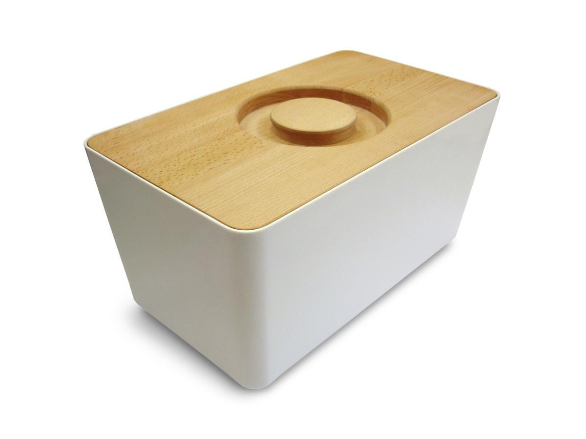 Melamine Bread Bin Mk1 White