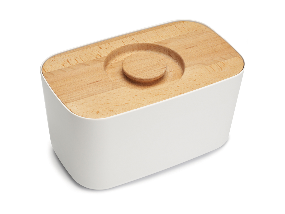 Melamine Bread Bin Mk2 White