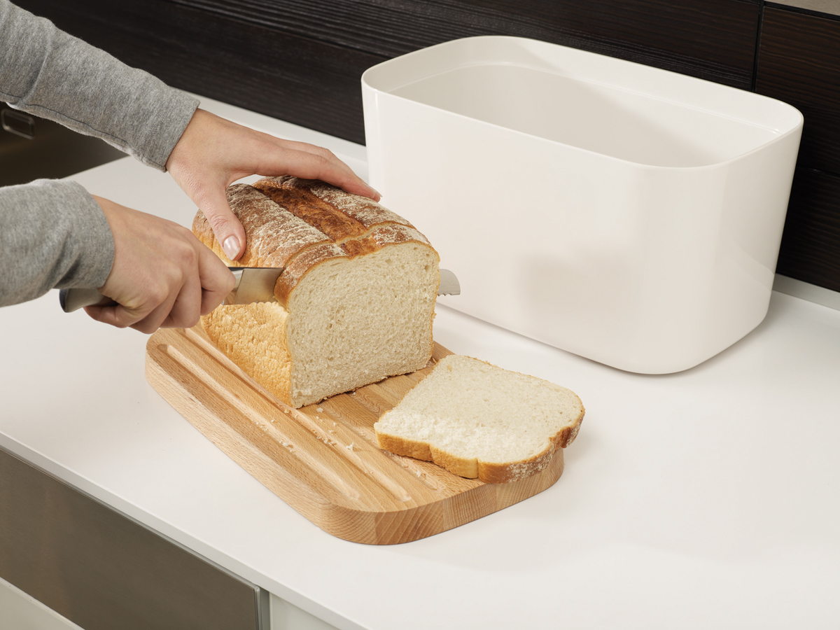 Melamine Bread Bin Mk2 In Use