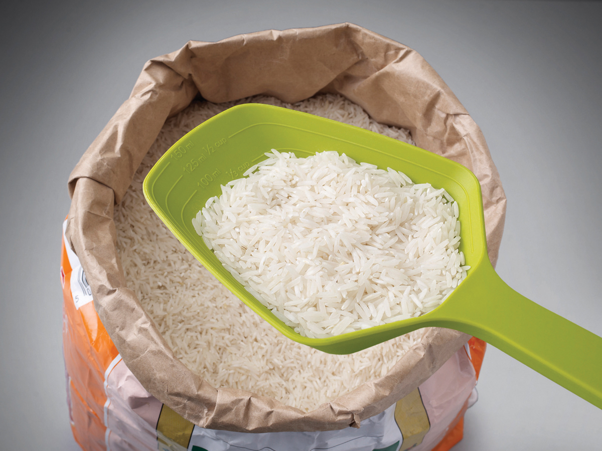 Scoop Measure In Use Rice
