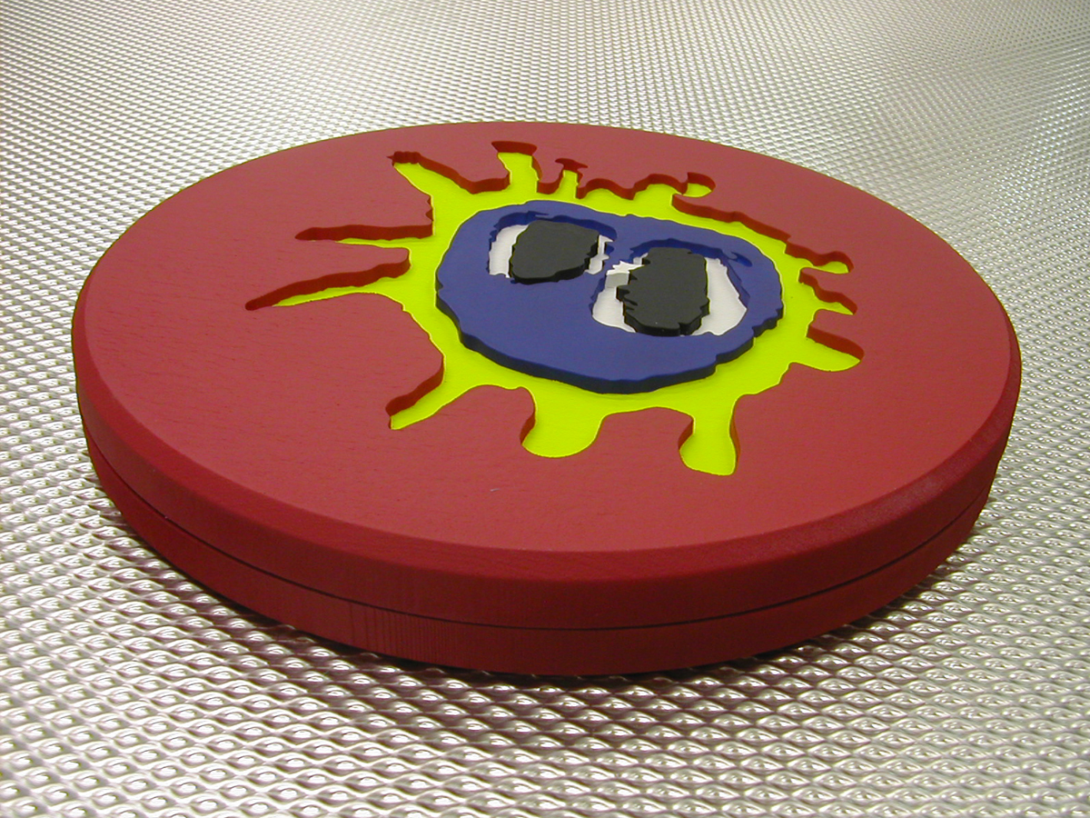 "Primal Scream Screamadelica Ltd Edition 20th Anniversary ""Pill"" Alt Test"