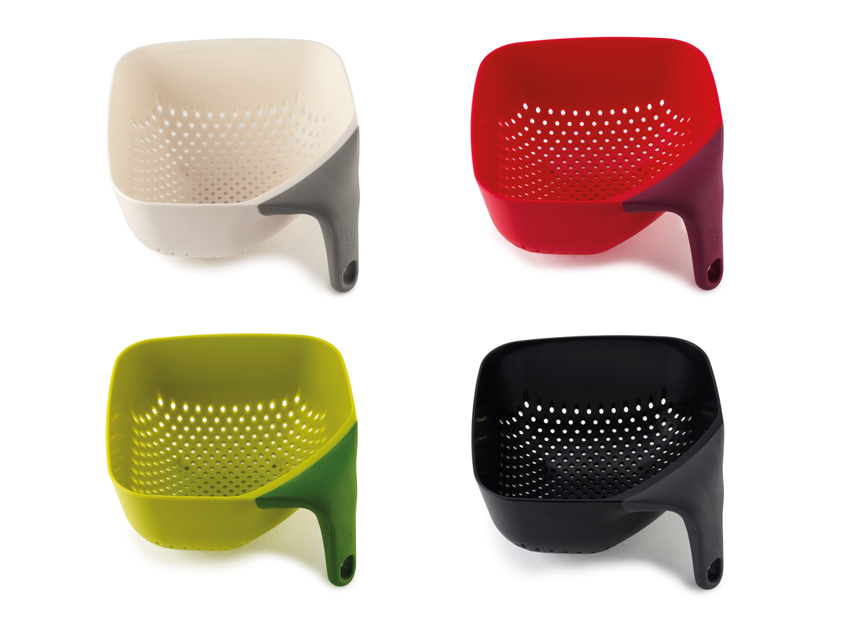 Square Colander Mk2 by Morph for Joseph Joseph