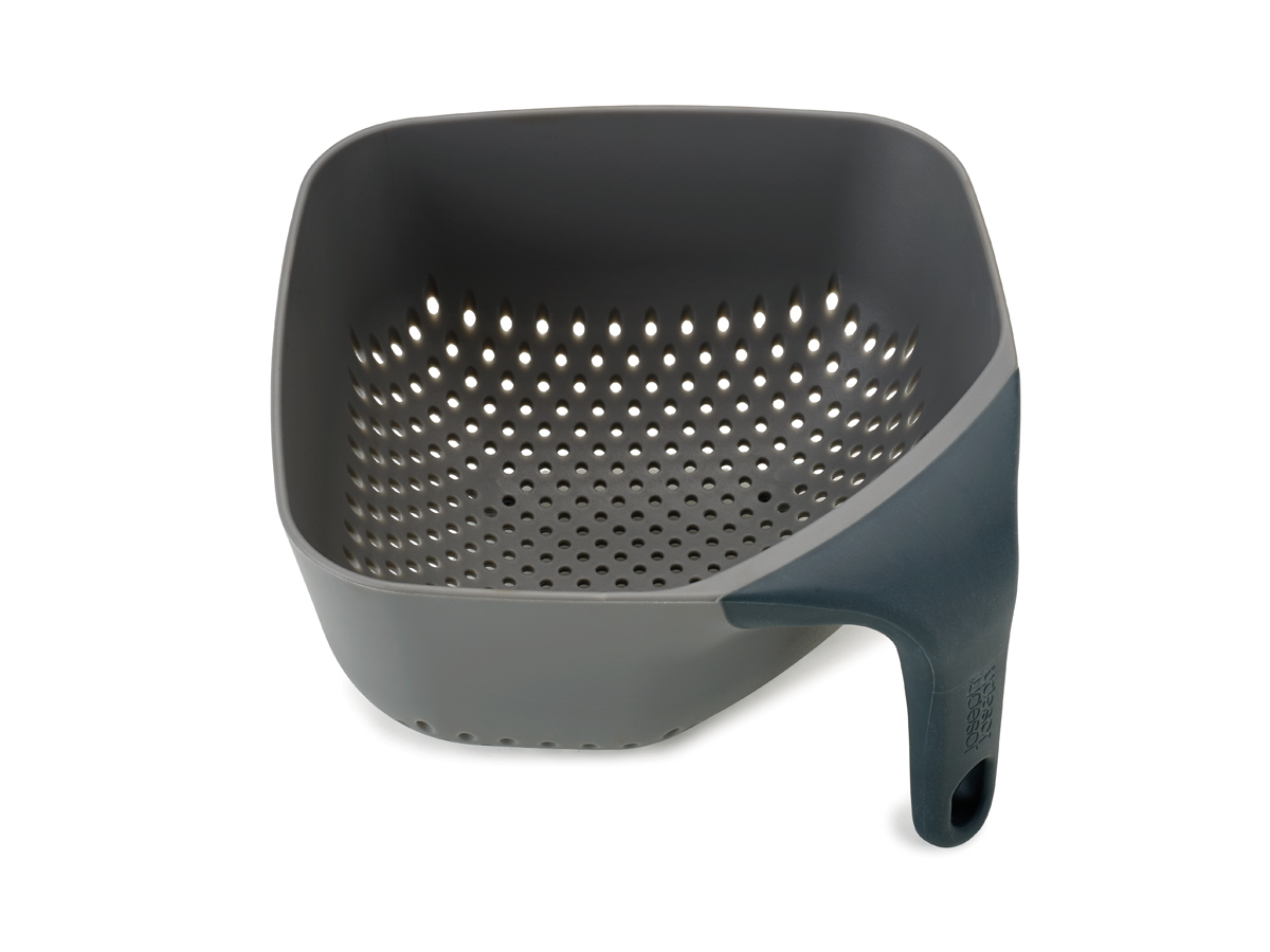 Square Colander Mk2 Medium Grey