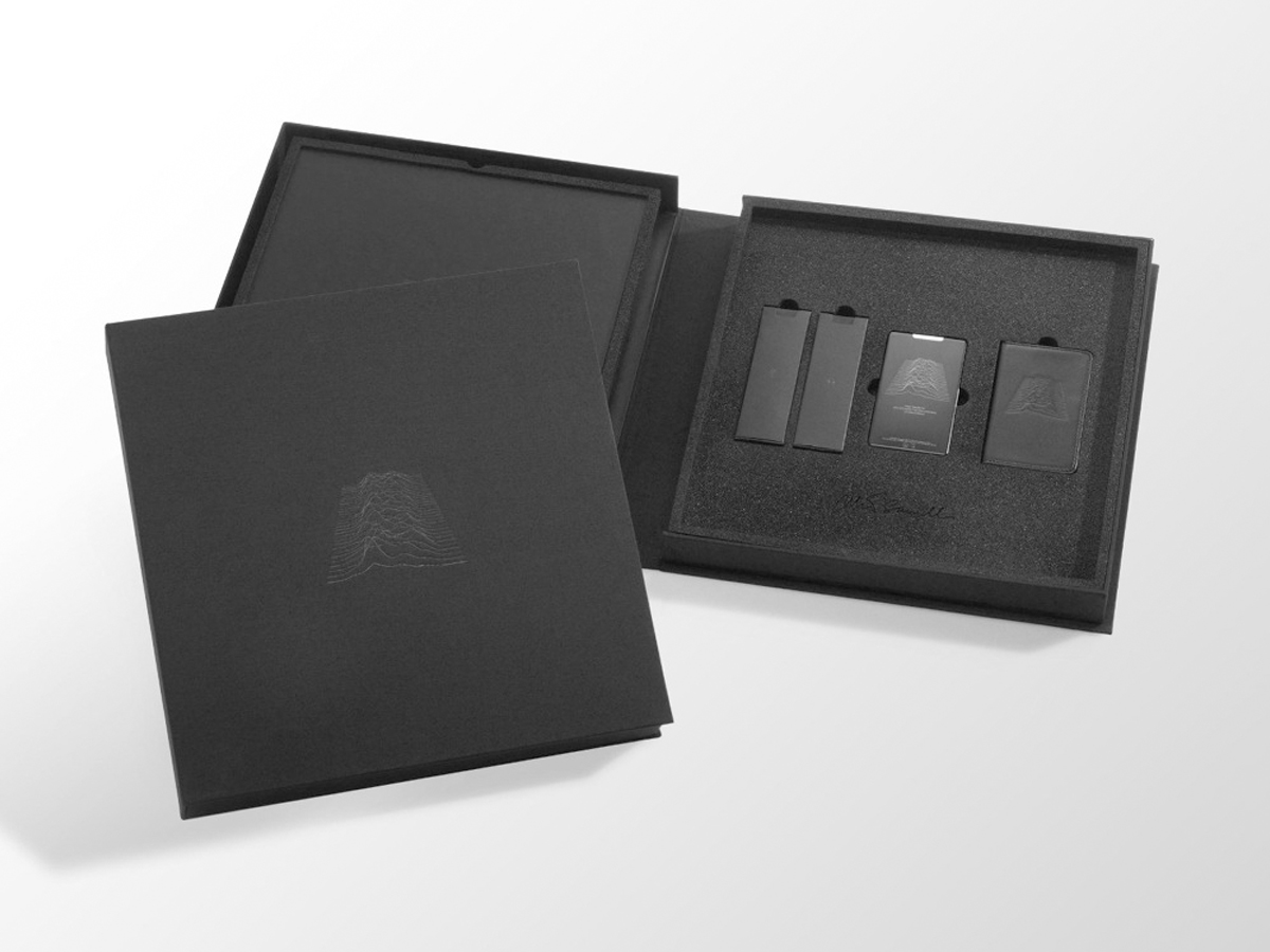 Unknown Pleasures Zune Player Packaged