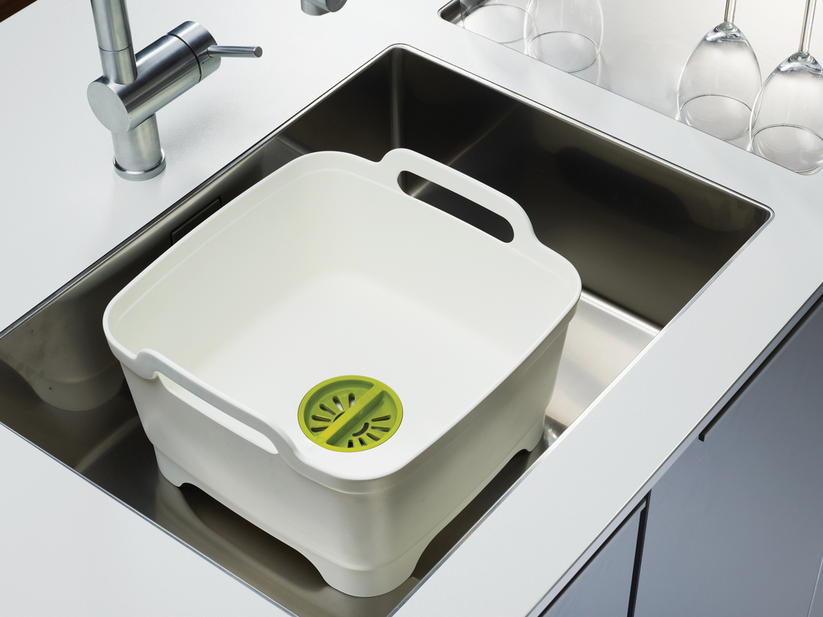 Wash&Drain In Sink