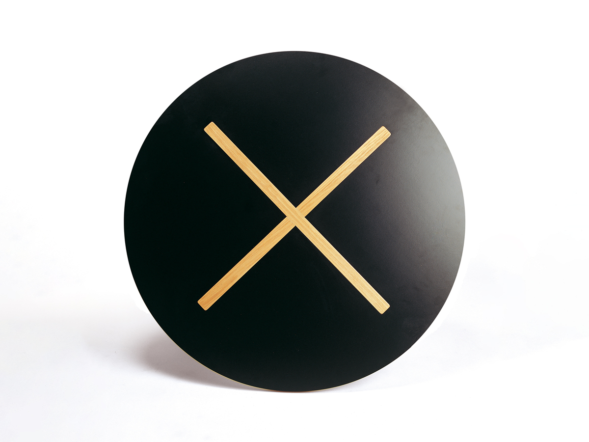 x2 Table Black