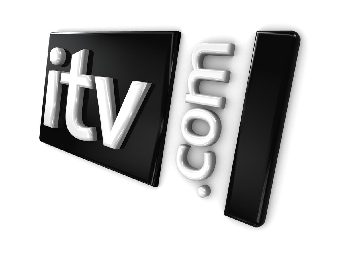 ITV Online 3D Logo Angled Left