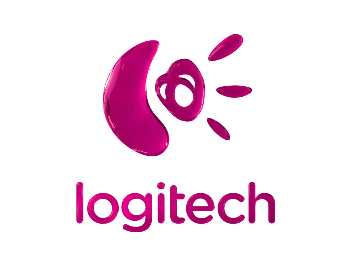Logitech 3D Logo Pink