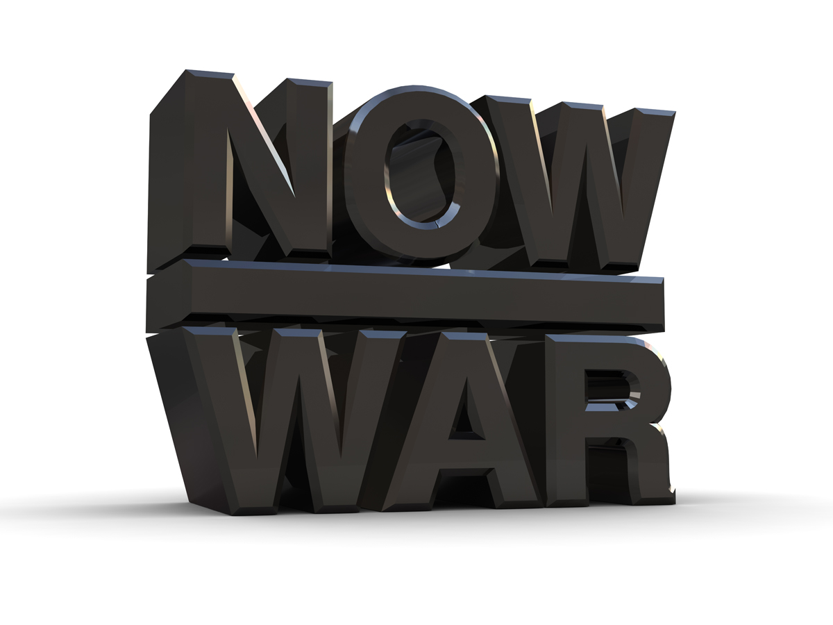 """Now War"" by Morph + Peter Saville"