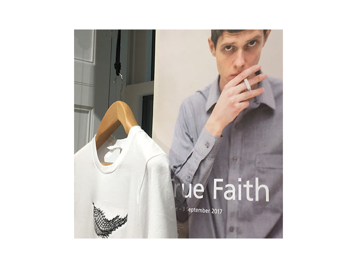 True Faith Exhibition Poster & T-Shirt
