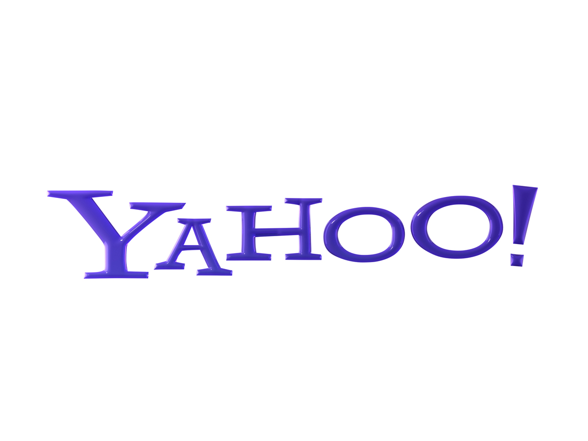Yahoo Full Logo Sharp