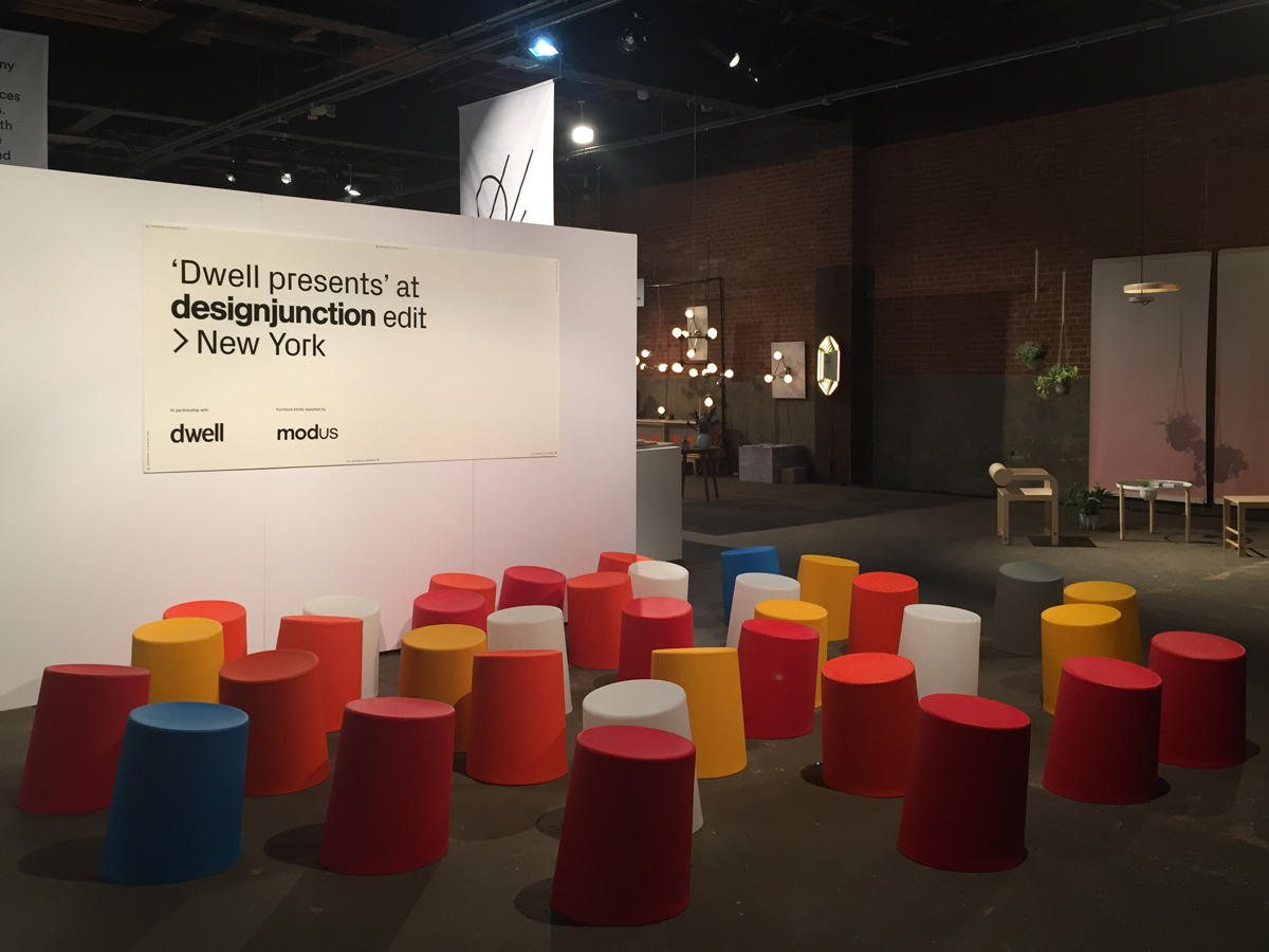 10 Degrees Stools by Morph at Design Junction New York