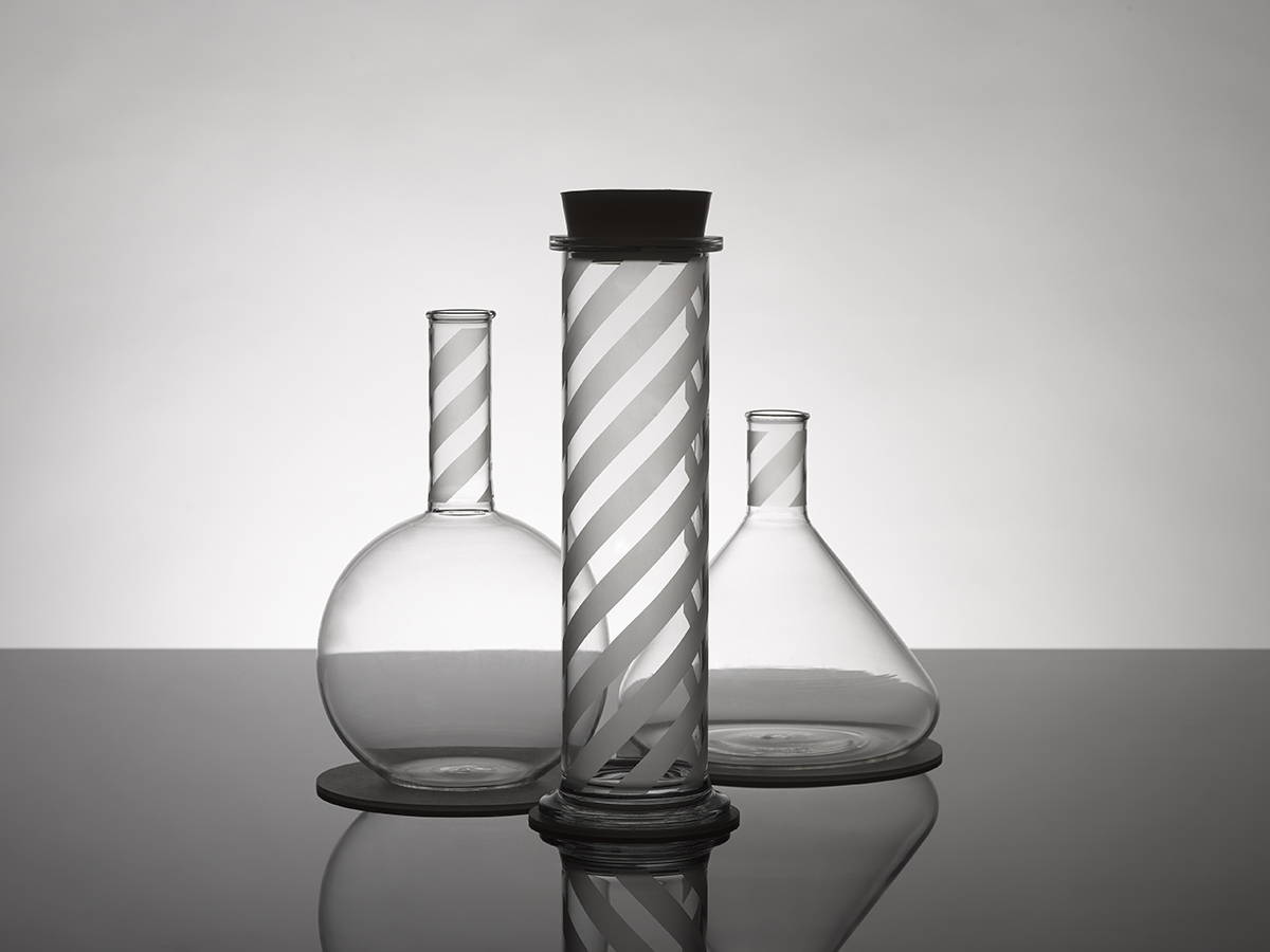 Lab Glassware Range by Morph + Peter Saville for the Museum of Science & Industry