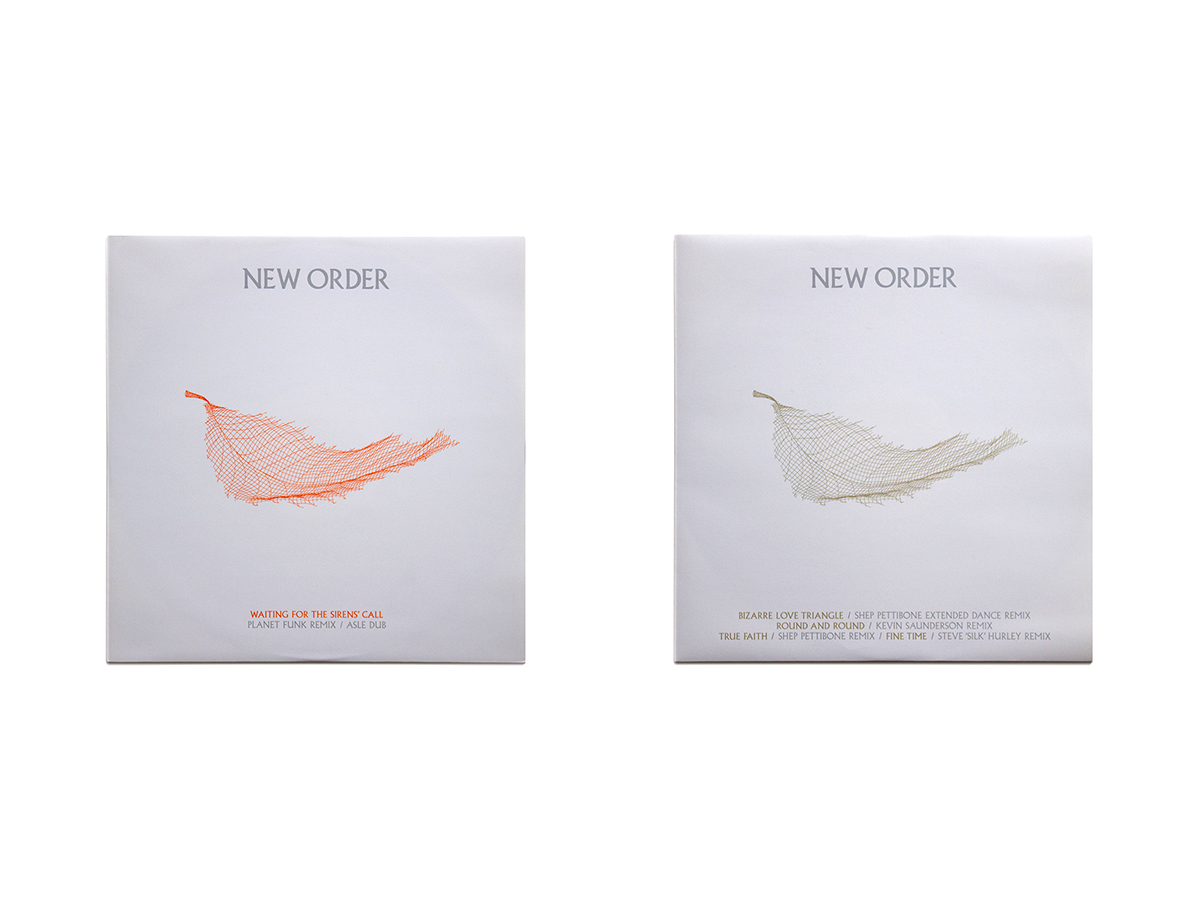 New Order Singles 12 x 12 Inch 1 & 2