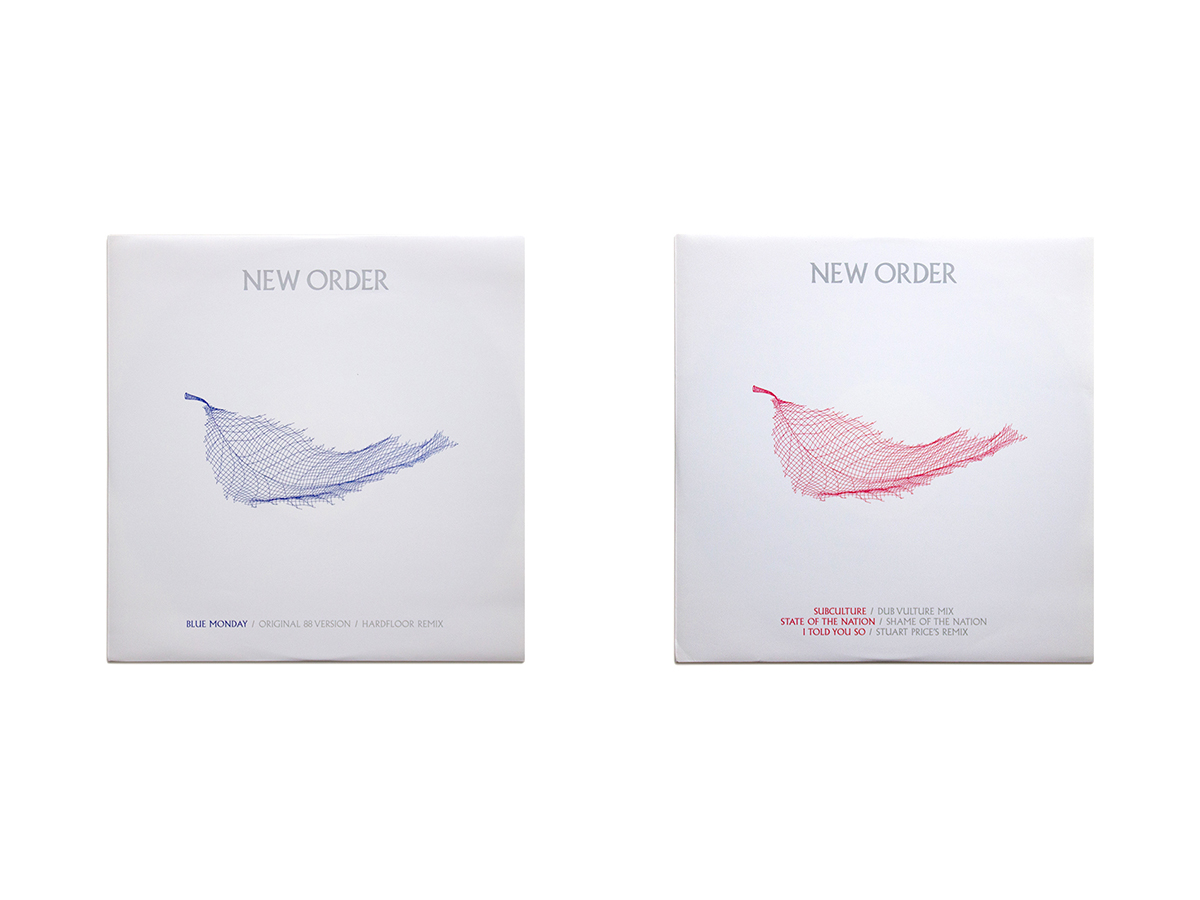 New Order Singles 12 x 12 Inch 7 & 8