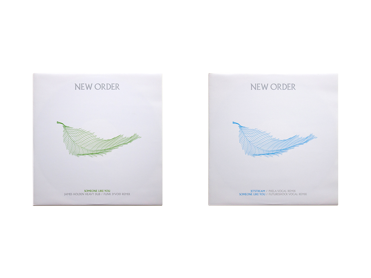 New Order Singles 12 x 12 Inch 9 & 10