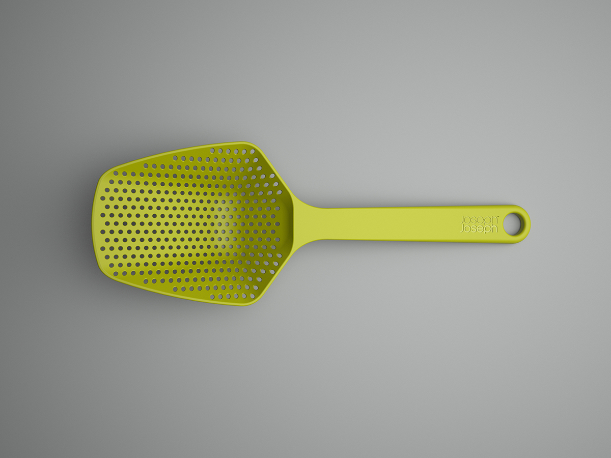 Scoop Colander Plan View