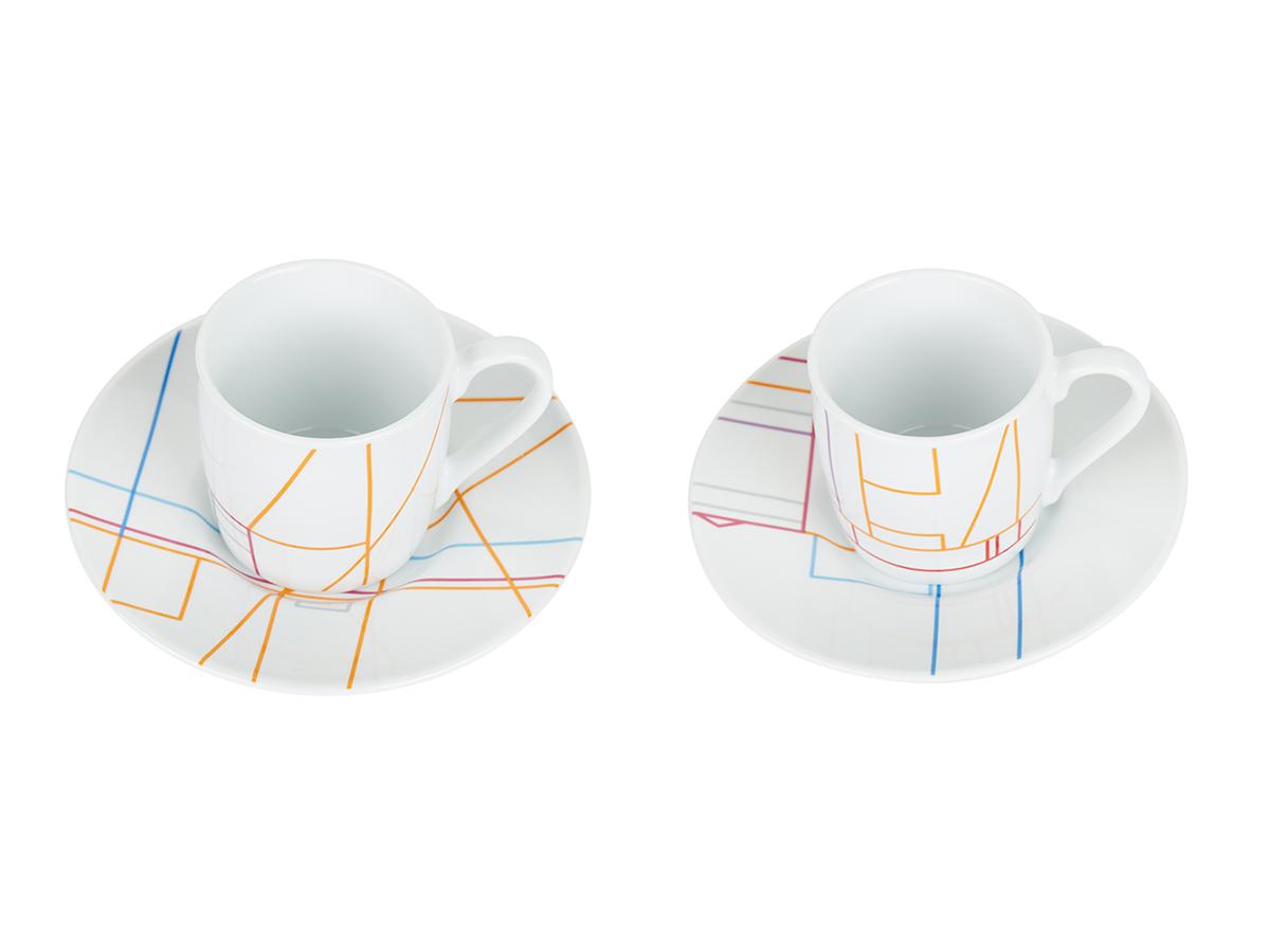 Tate Modern Peter Saville Espresso Cups & Saucers