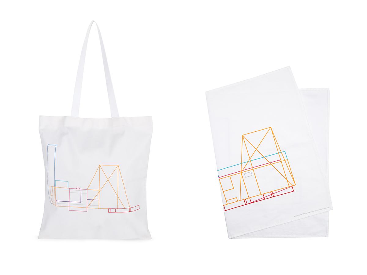 Tate Modern Peter Saville Tote Bag & Tea Towel