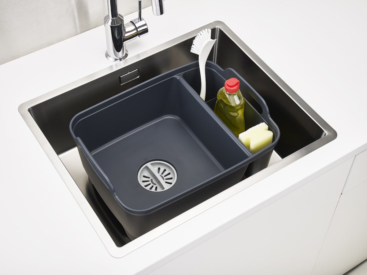 Wash&Drain Store In Sink Full